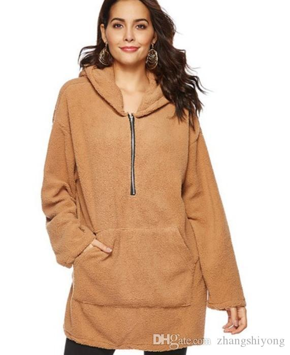 Бесплатная доставка 2018 зима новый стиль Arder теплый с капюшоном с длинным рукавом женщин вэй одежда @ 003