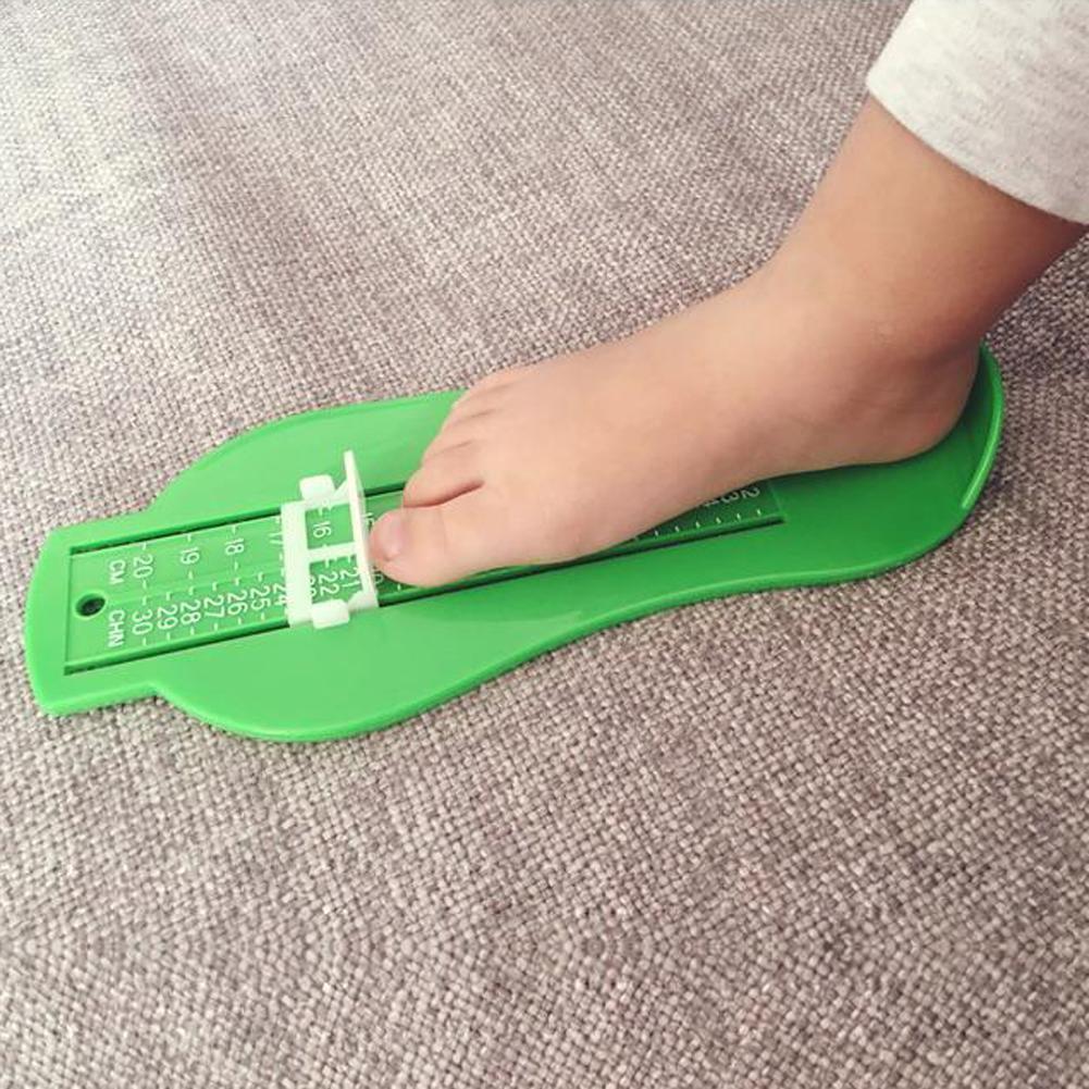 Infant Toddler Baby Foot Sizes Ruler Kids Feet Length Gauge Meter Measuring Tool
