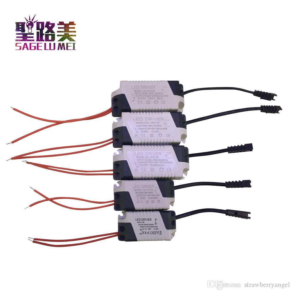 3W 10W 18W 24W 36W LED driver Trafo 300mA Treiber Transformator Netzteil 12V 24V