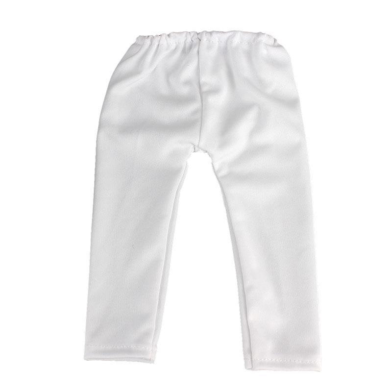 """1 adet 18 """"American Girl Doll 45 cm Bebek Aksesuarları Için Baskılı Pantolon"""