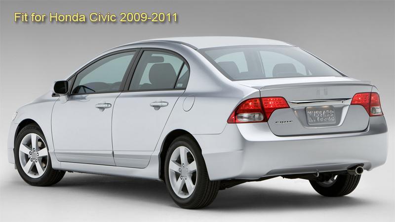 4 LED Car Rear View Camera Reverse Backup Parking CCD for Honda Civic 2009-2011