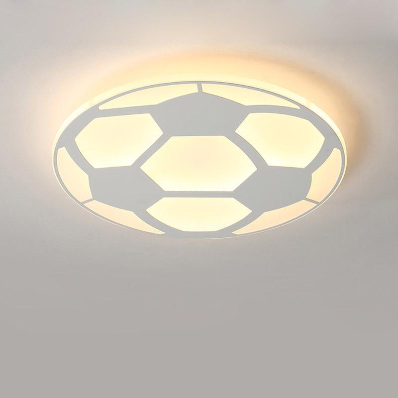 Grosshandel Moderne Kinder Fussball Lampe Led Deckenleuchte Mit Fernbedienung Wohnzimmer Schlafzimmer Kinderzimmer Dekor Hause Beleuchtung Acryl Von