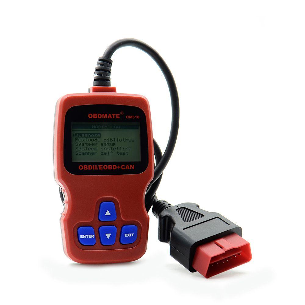 Autophix OBDMATE OM510 OBD2 Car Code Reader Scanner For VW AUDI OBDII OBD2 Auto Diagnostic Tool