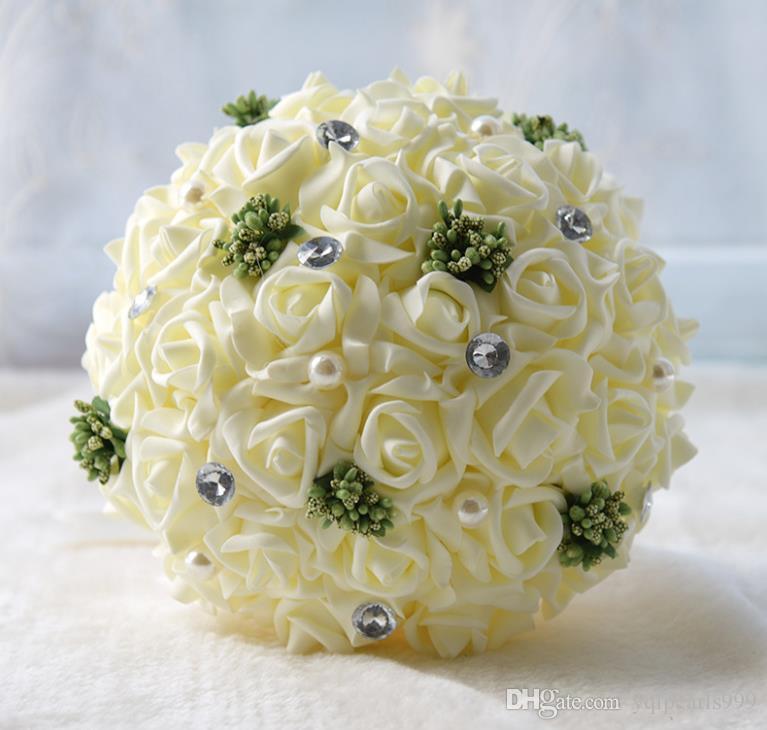 Ebedi melek PE gelin tutan çiçekler hediyeler düğün malzemeleri