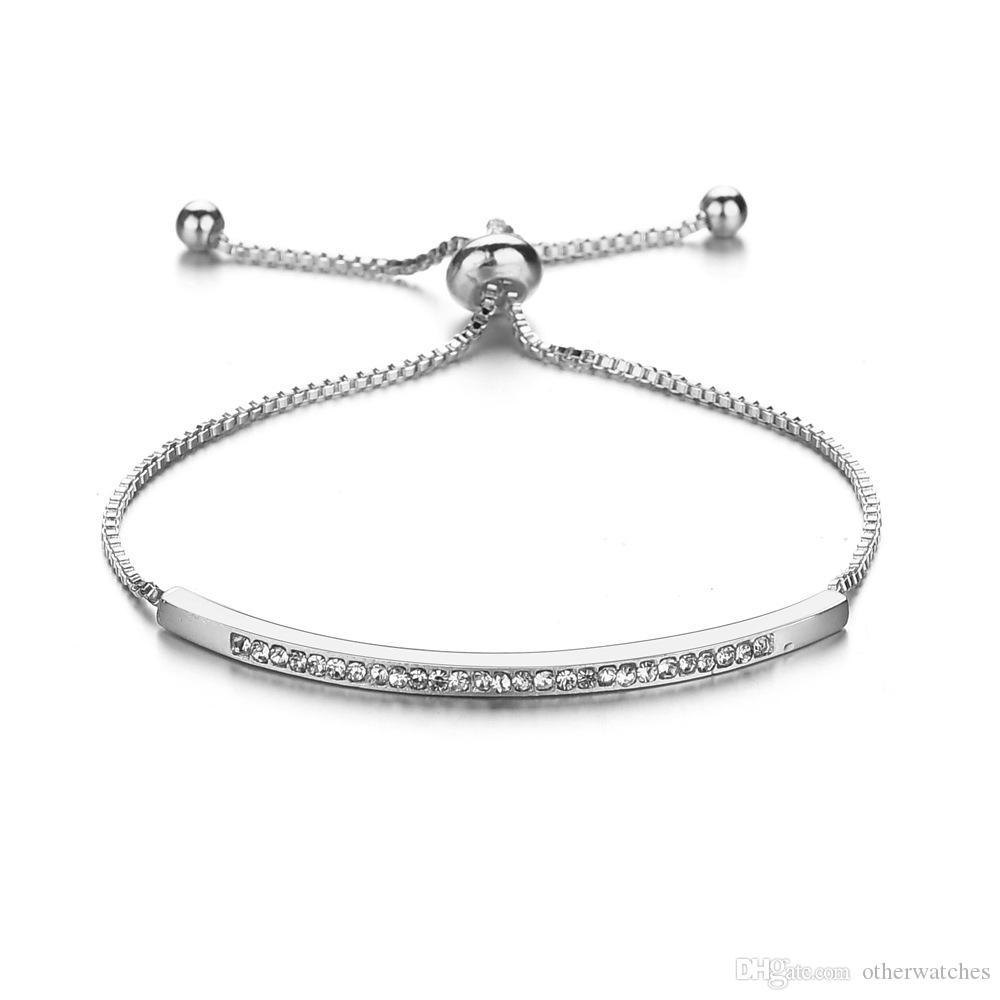 Регулируемый женский браслет аксессуары Шарм браслеты