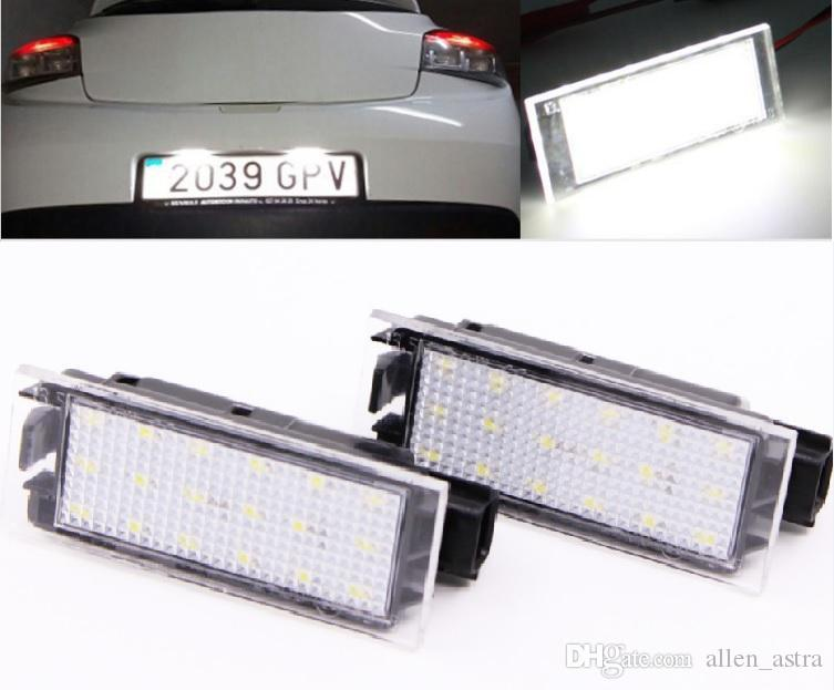 1x Renault Twingo Bright Xenon White LED Number Plate Upgrade Light Bulb