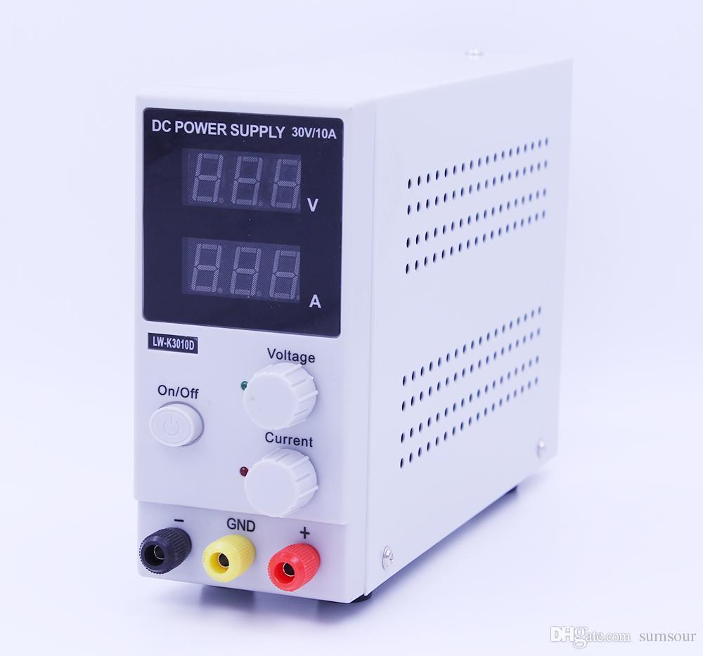 Nova 30 V 10A Display LED de Comutação Ajustável DC Power Supply LW-K3010D Laptop Reparação Retrabalho