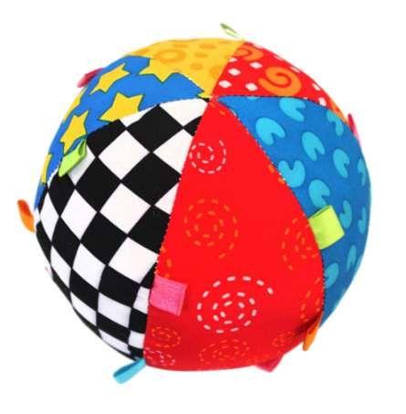 Baby Ball Colorful Sensorial Ball Toy Soft Ring Campana Early Educational Toy Music Ball para regalo recién nacido