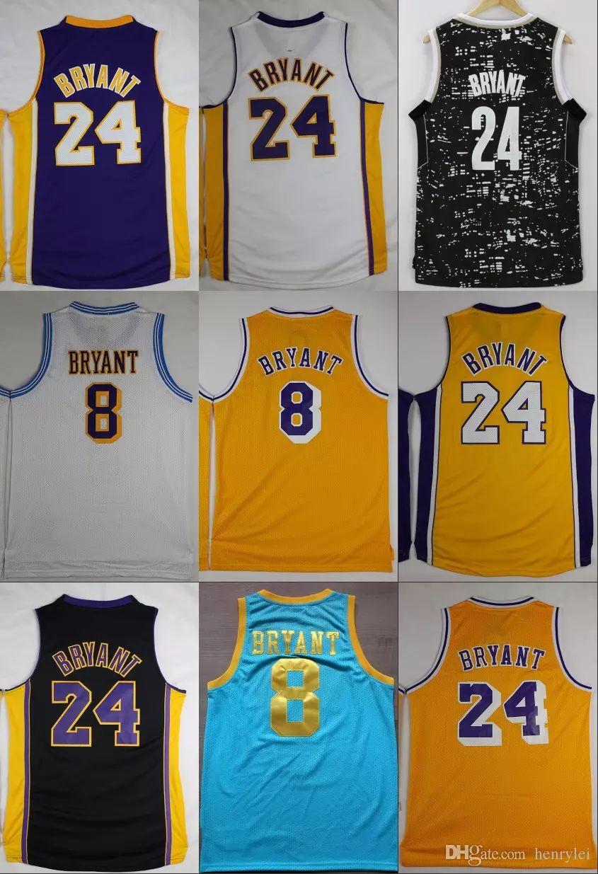 Wholesale Basketball Jerseys At $14.51, Get Black Mamba 24 Kobe ...