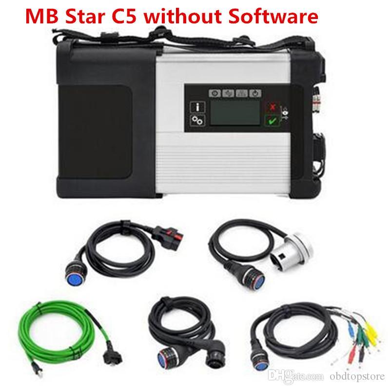 DHL grátis !!! 2018 NOVO MB SD C5 Estrela C5 SD conectar 5 compactos com multi-idioma MB STAR SD C5 suporte wi-fi