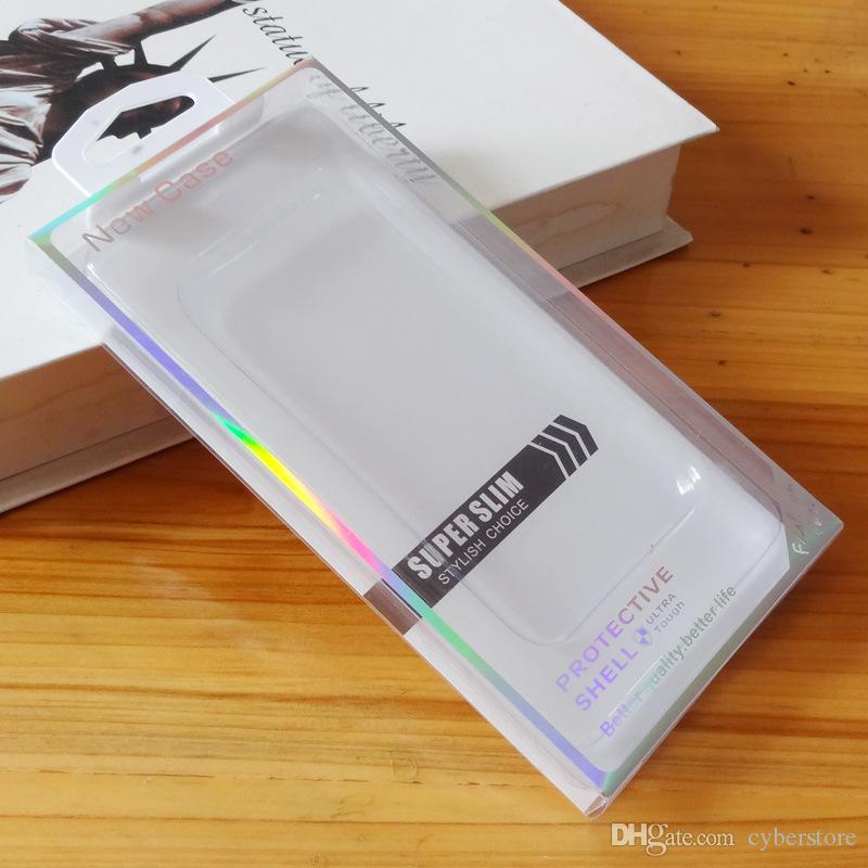 Универсальный ПВХ Розничный пакет пластиковая упаковка коробки коробки с вкладышем для iPhone XS MAX X XR 7 8 Samsung S9 S8 S7
