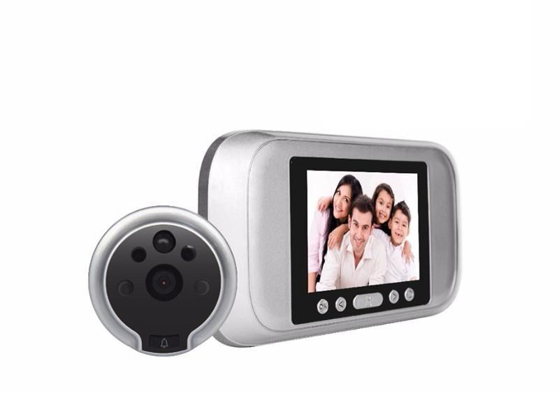 """3.2 """"Digital Peephole Viewer Türklingel Foto Video Überwachungskamera Bewegungsmelder Tür Auge"""