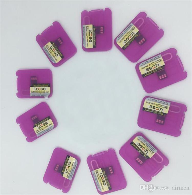 Original R-SIM 12 RSIM12 unlock card for iPhone X ios11 rsim 12 rsim12 unlocking iphone8 8p 7 7P 6 6S IOS 11-10.x 4G CDMA SB AU SPRINT