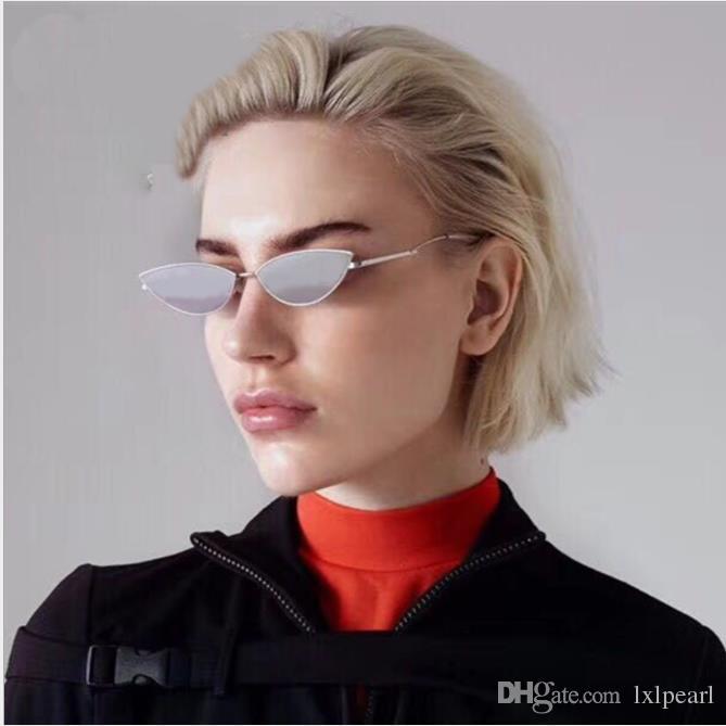 Estrela de olho de gato europeu e americano pequeno Sunglasses feminino moda rede maré vermelha rua tiro Sunglasses man