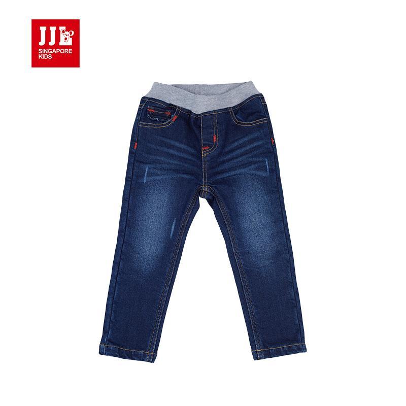 Compre Forro Polar De Invierno Para Ninos Jeans Azul Marino Jeans Para Ninos 2016 Ninos Ropa Ninos Pantalones De Longitud Completa Ropa Infantil A 22 16 Del Love9love Dhgate Com