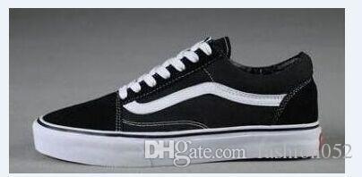 Nouvelle Arrivée Chaussures De Toile Classique Blanc Noir Marque Sneakers Pour Femmes Hommes Low Cut Skateboard Casual Chaussures Sneakers 35-45