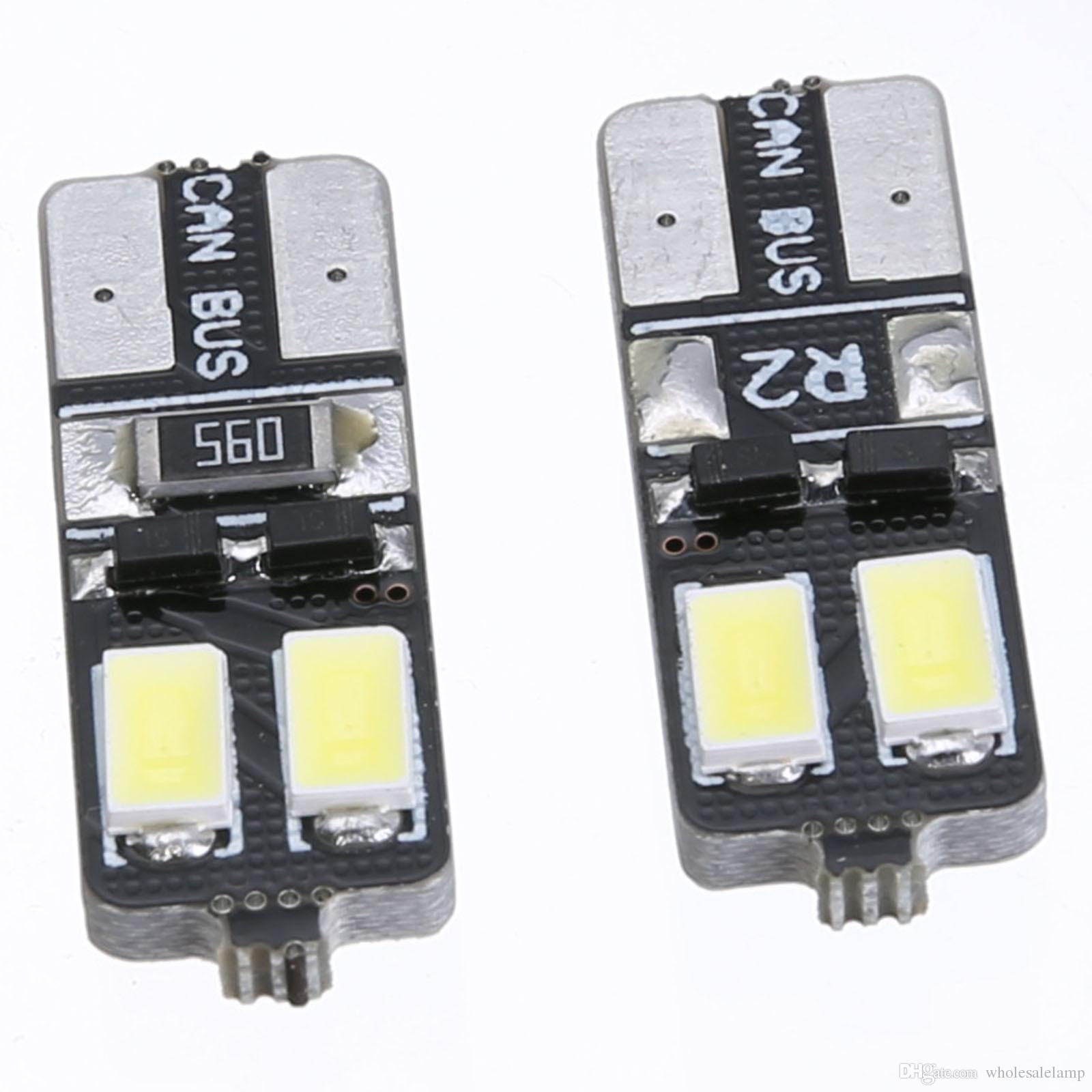 T10 4SMD 5630 Clearance Car Auto LED led Light canbus Bulb No error door light Car Auto LED