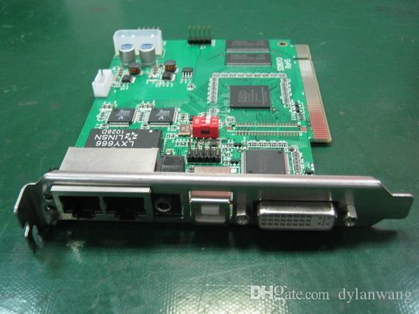 Linsn Pełny kolorowy system sterowania LED, TS802D Karta wysyłająca + karta odbierająca RV908, P5 / P6 / P10 / P16 / P20 LED Controller