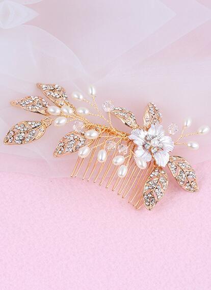 Yeni Avrupa ve Amerikan elmas elmas şapkaya düğün tarak bayan taç