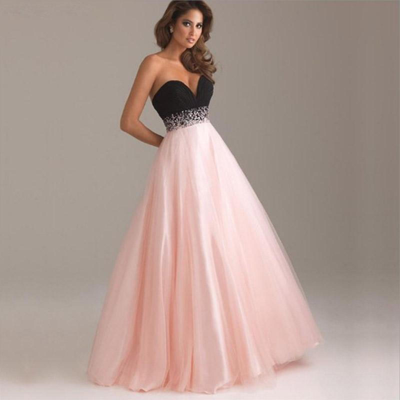 Pailletten kleider lang rosa