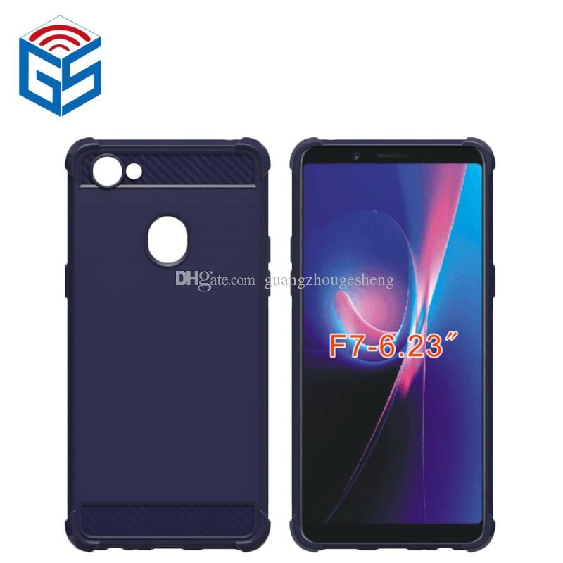 promo code d4288 48c76 For Oppo F7 Matte Back Cover Cell Phone Case Soft Gel Anti Fingerprint TPU  High Quality Waterproof Cell Phone Cases Wallet Cell Phone Case From ...