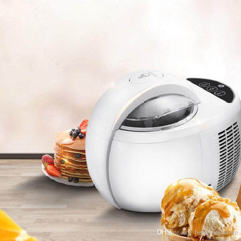 BEIJAMEI ev kullanımı otomatik dondurma makinesi büyük kapasiteli 1L elektrikli meyve dondurma makinesi makinası fiyatı