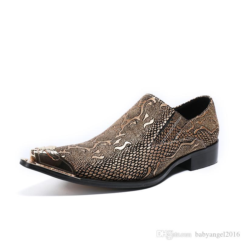 Männer formale Schuhe Leder italienische grau gelb loafer zapatilla hombre Hochzeit Schuhe Luxus-Büroklage Oxford prom Schuhe