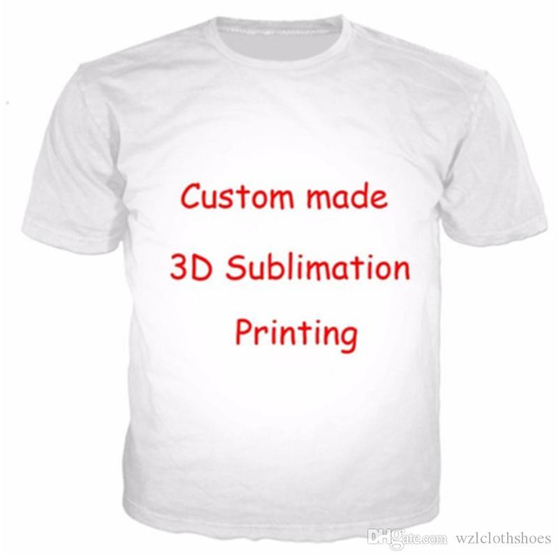 Frauen / Männer Kunden besitzen Design / Logo anpassen 3D-Druck T-Shirt Tops Tee wie 2pac Tupac Fortnite Spiel