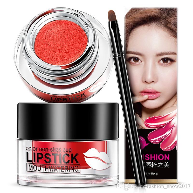 BIOAQUA Brand Beauty Lippen Make-up Multicolor Charm Air Cushion Lippenstift Farbe Antihaft-Cup Lippenstift Lip Gloss Calm Makeup Leistung