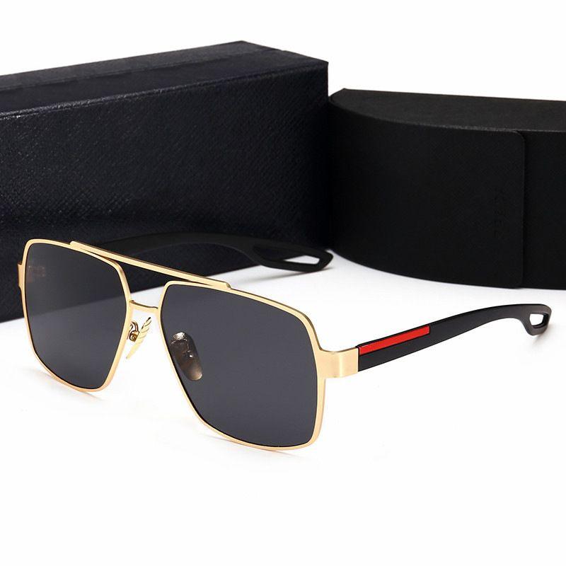 نظارات شمسية للجنسين مصنوع من المعدن بولارايزد