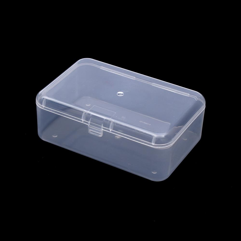 Linsbaywu Boîte de rangement en plastique transparent transparent Clear Square Square Multipurpose Disposition Haut Prix usine Expert Conception Qualité Dernière Style Statut original