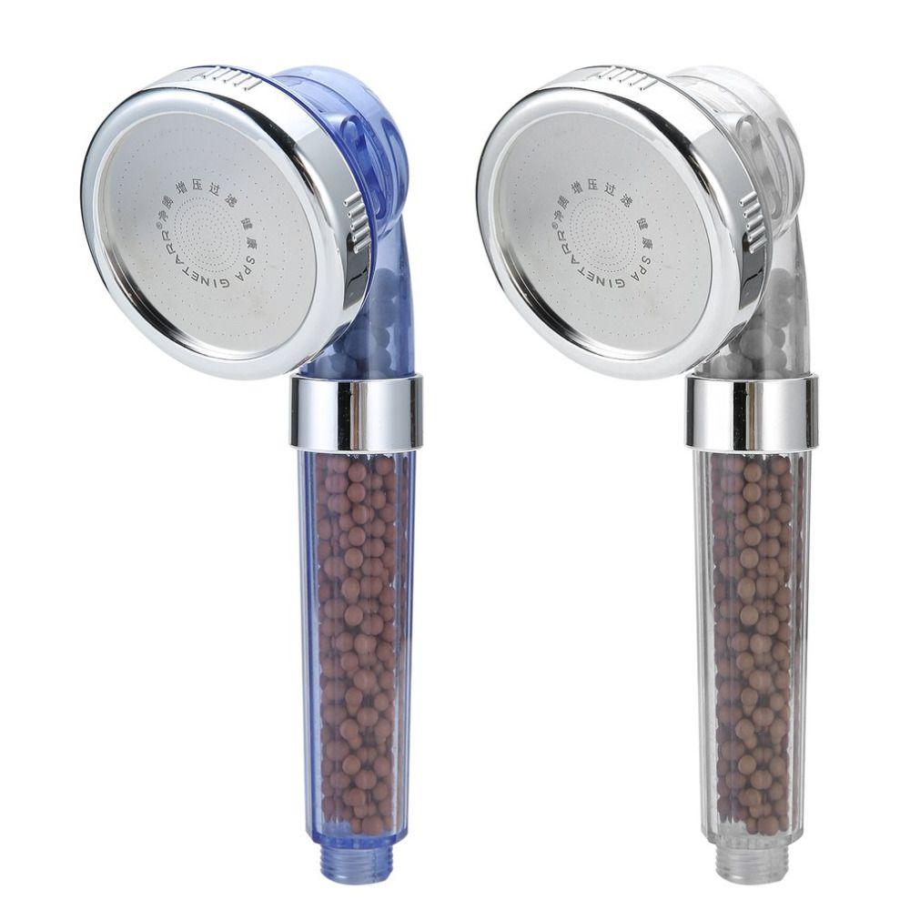 1PC قابل للتعديل تصفية دش ارتفاع ضغط توفير المياه دش رئيس المحمولة توفير المياه فوهة رذاذ الملحقات