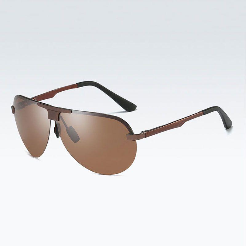 Designer Driving Sunglasses For Polarized Brand Men Travel Frog 2018 Good Quality Classic Glasses Rimless Male Goggle Classic Sunglasse Gkbr