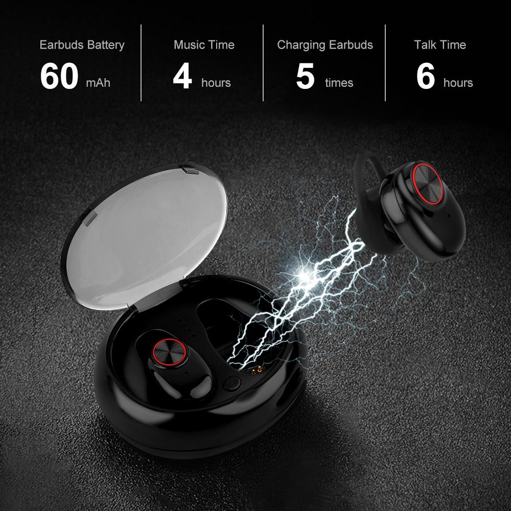 V5 Tws Earbuds Bluetooth 4 2 Wireless Stereo Wireless Headset Qi Enabled Charging Case Ipx6 Waterproof Hot Tws Mini Earphones Cell Phone Earphone Cell Phone Headphone From Vickyhouse001 20 41 Dhgate Com