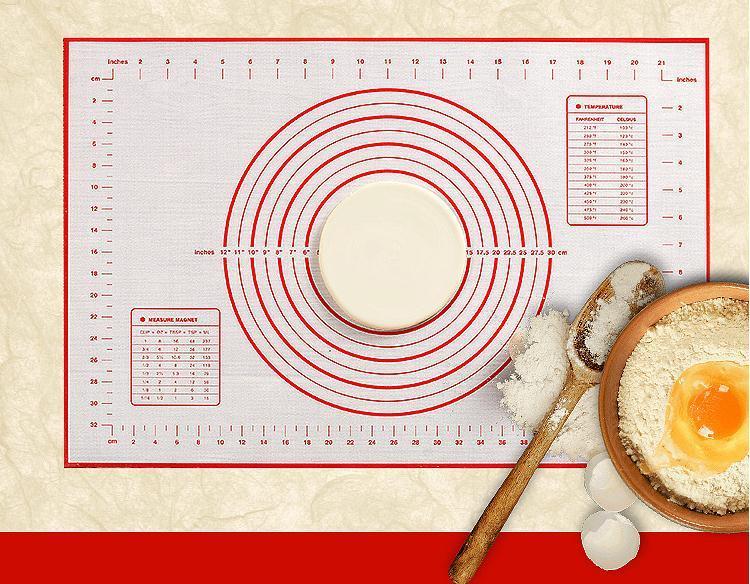 Pâtisserie feuille de cuisson four Rolling cuisine feuilleton tapis *tr