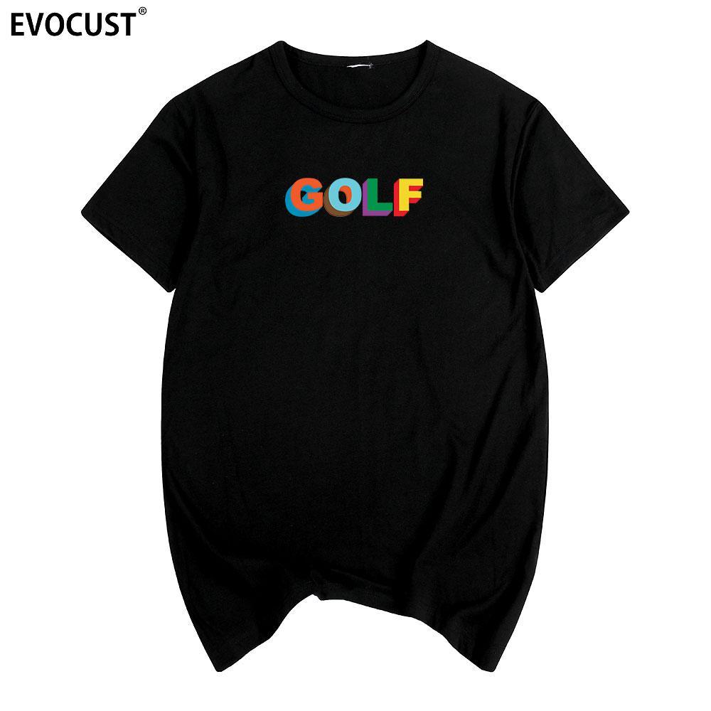 Golfed Wang Sk 새로운 90 번째 타일러 크리에이터 OFWGKTA 스케이트 프랭크 오션 하라주쿠 티셔츠 코튼 맨즈 티셔츠 New TEE TSHIRT Womens