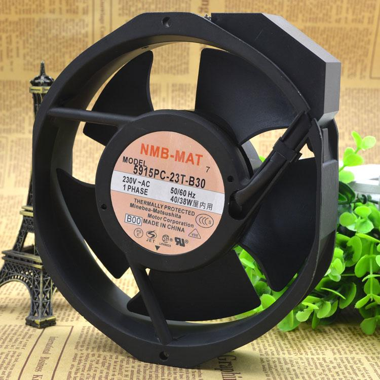 NMB-MAT 5915PC-23T-B30 230V 40//38W 172*150*38MM aluminum frame AC fan