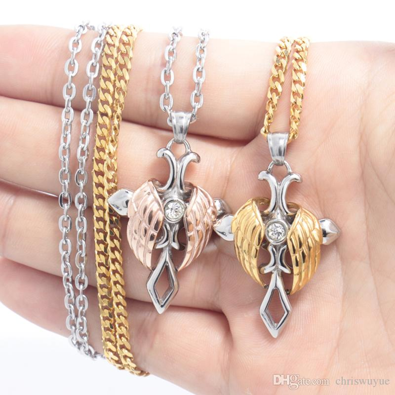 2018 Fashion Women Pendant Jewellery Crystal Heart Silver Colour Necklace Chain