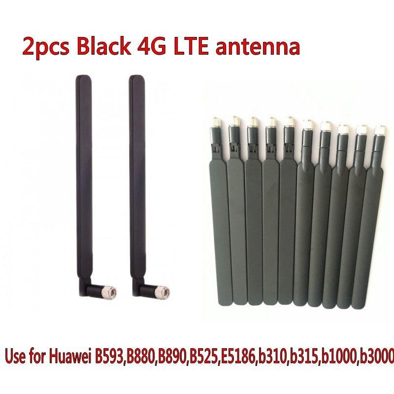 Preto / branco cor 5dbi 4G LTE antena huawei b593 B890 B315 B310 B880 B525