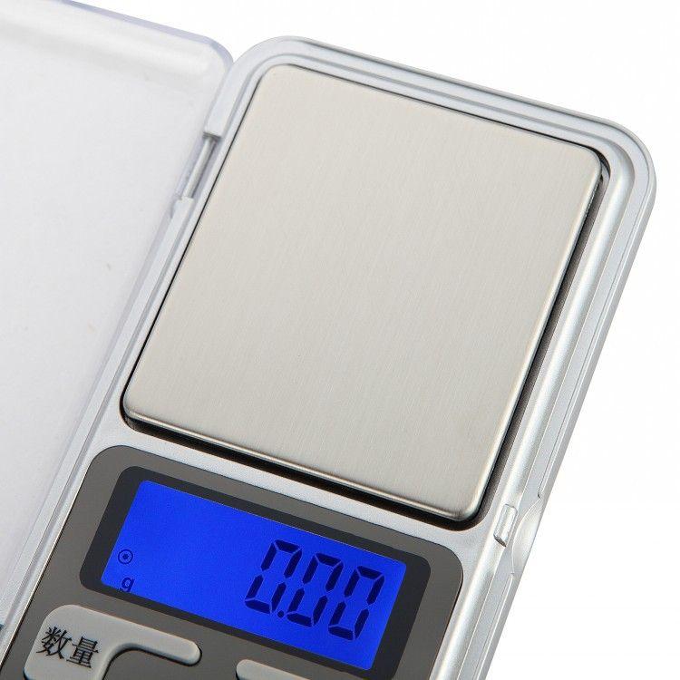 Échelle de bijoux portable de précision pesant 0.01g 0.1g dit mini-cadeaux de téléphone portable de thé échelles
