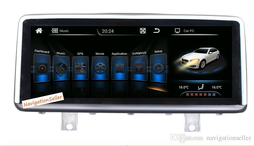 10.25 بوصة 1080P Android Car DVD GPS سيارة ستريو راديو صوت الوسائط المتعددة ملاحة Navi Player لسيارات BMW 1 series 2 series F20 F21