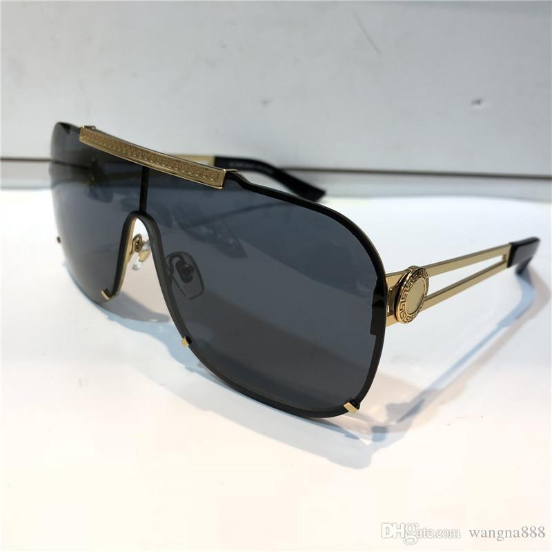 2168 النظارات الشمسية الفاخرة للرجال تصميم الأزياء الإطار الكامل uv400 uv حماية عدسة steampunk الصيف ساحة نمط comw مع الحزمة