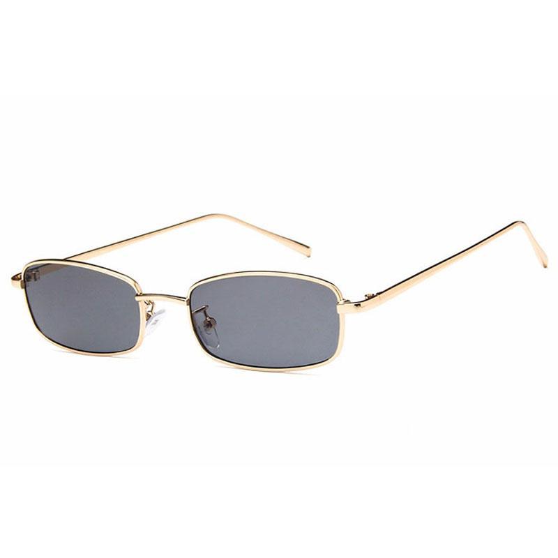 Erkekler Kadınlar Için güneş Gözlüğü Lüks Sunglass Moda Sunglases Bayanlar Güneş Gözlükleri UV 400 Unisex Küçük Ince Tasarımcı Güneş Gözlüğü 6K2D52