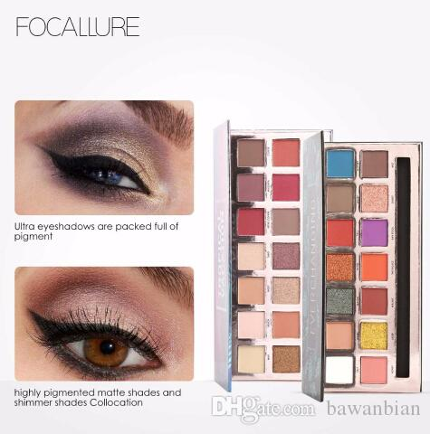 14Colors Eyeshadow Palette Matte Glitter Shimmer Tropical Vacation Eyeshadow Palette with Brush