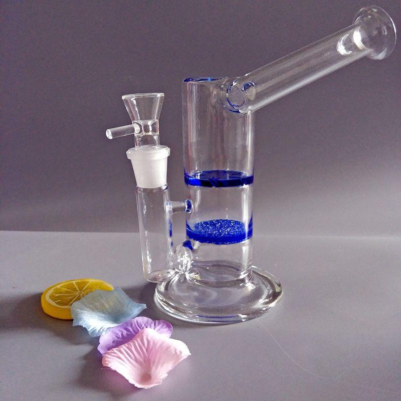 Vendita calda sidecar bong di vetro acqua tubo di fumo tubo di acqua tubo bong con disco frizionato e turbina perc (G-228-F)
