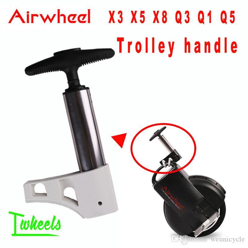 원래 에어 휠 X3 X5 X8 Q3 Q1 Q5 전기 외바퀴 자전거 트롤리 핸들
