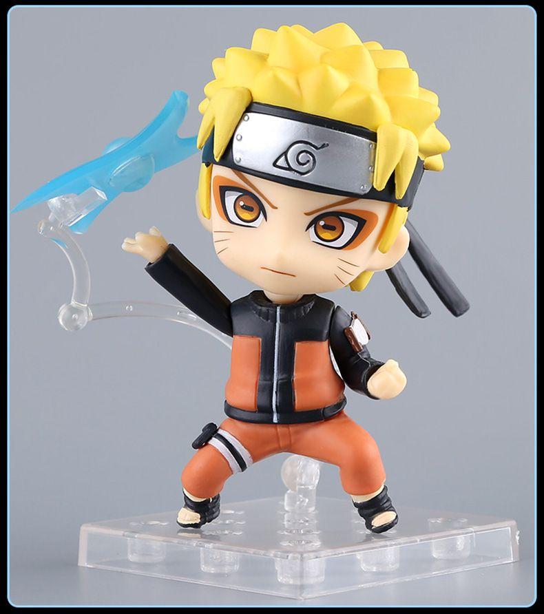 Anime Naruto Sasuke Uchiha ShippudenNendoroid PVC Figure Model 4/'/'