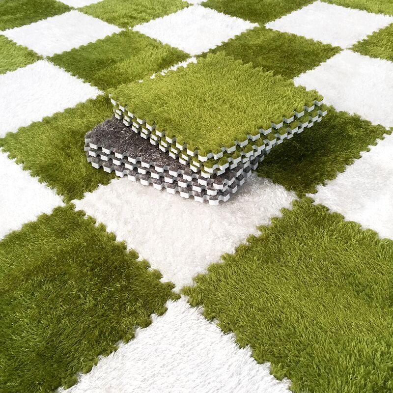 Home Room Decoration Soft Carpet Puzzle Mats Non Toxic Shaggy Rug