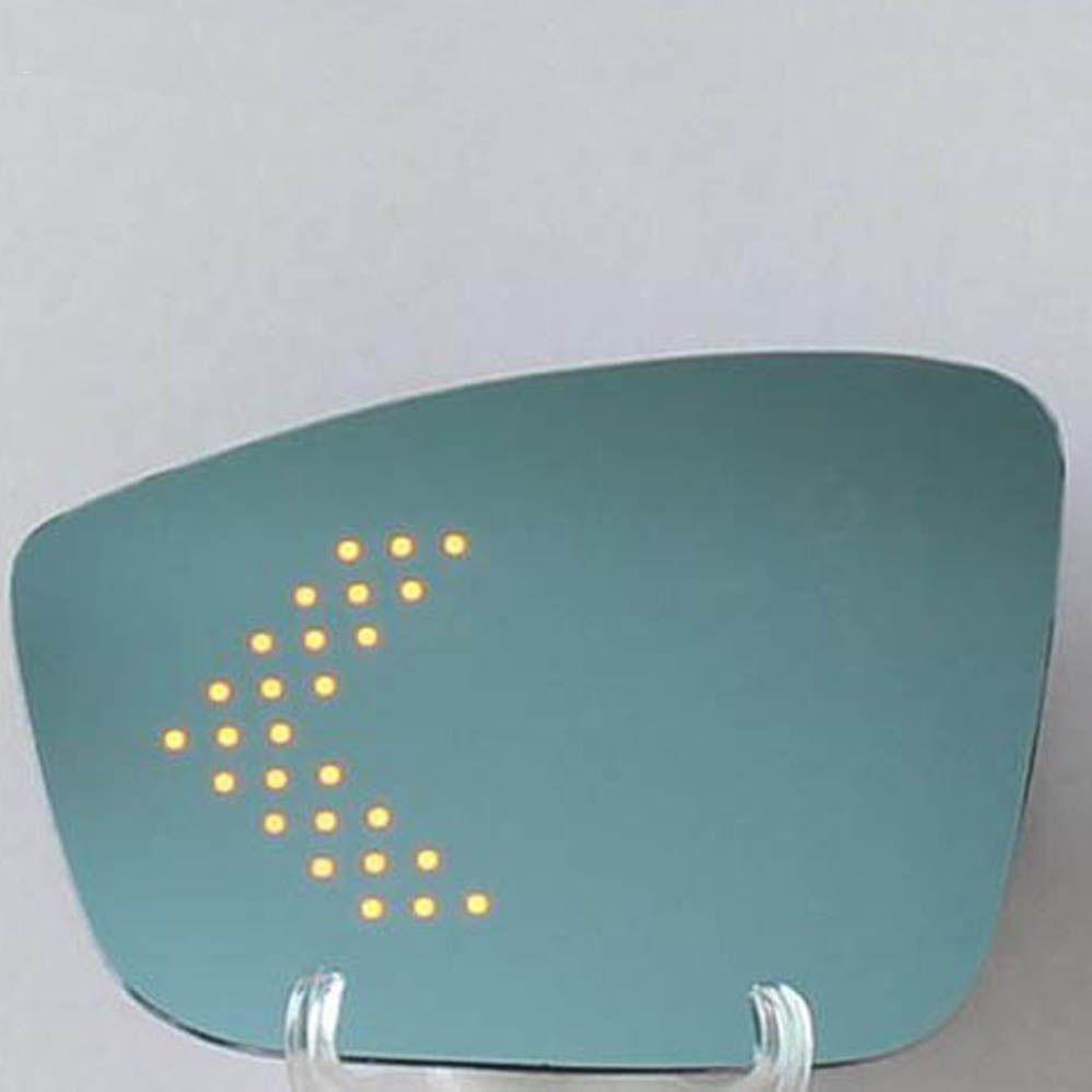 زاوية برية زرقاء أدت بدوره إشارة السهم الجانب التدفئة مرآة الرؤية الخلفية لشركة فولكس فاجن بولو جولف golf6 مرآة الرؤية الخلفية