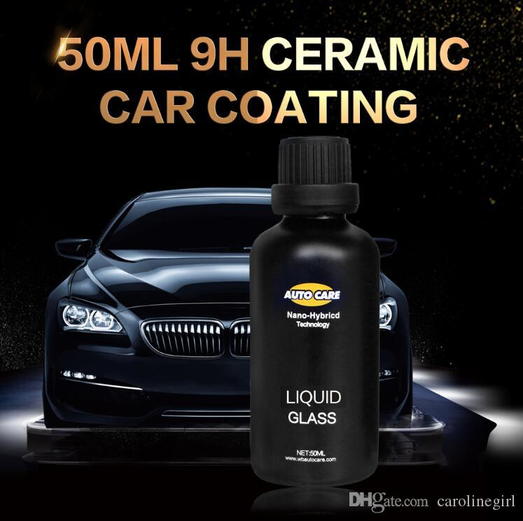 Ceramica auto rivestimento in vetro liquido 50 ML 9 H Durezza Auto polacco Moto Vernice Cura Nano Hydrophobic Coating Spray Nozzle scelta